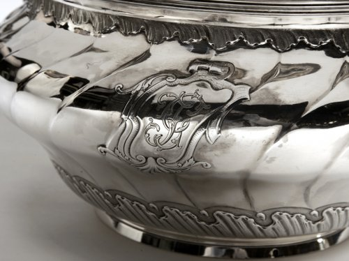 Soup tureen in silve, early XXth by BOINTABURET  -