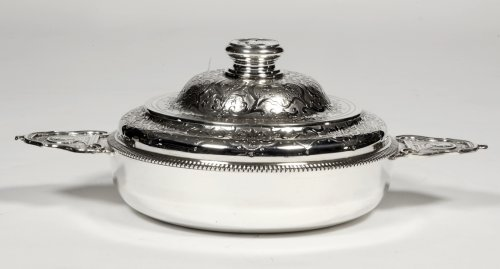 Silver vegetables covered with ears XIXth by Lagriffoul et Laval - Antique Silver Style