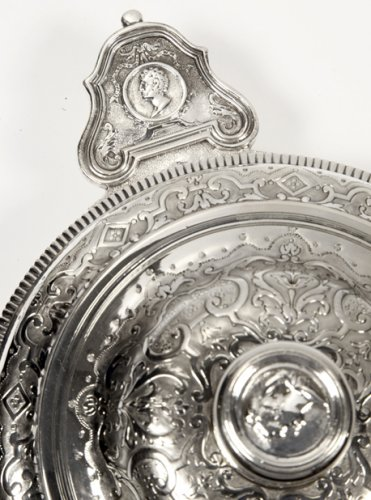 19th century - Silver vegetables covered with ears XIXth by Lagriffoul et Laval