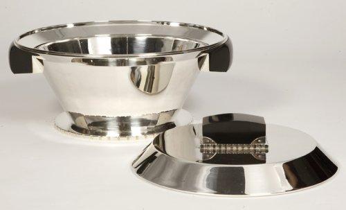 Jean E. Puiforcat - Important centerpièce art-déco - Antique Silver Style Art Déco
