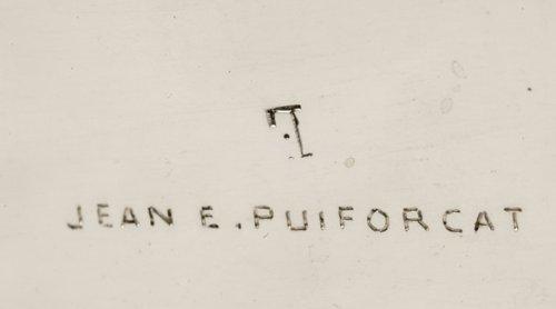 Antiquités - Jean E. Puiforcat - Important centerpièce art-déco