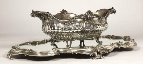 Boin Taburet - Gardener Solid silver 1çth century - Antique Silver Style Napoléon III