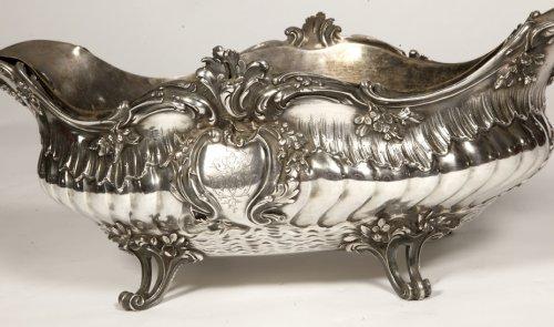 Boin Taburet - Gardener Solid silver 1çth century - Napoléon III