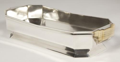Silver Gardener Silversmith JEAN TETARD - Antique Silver Style Art Déco