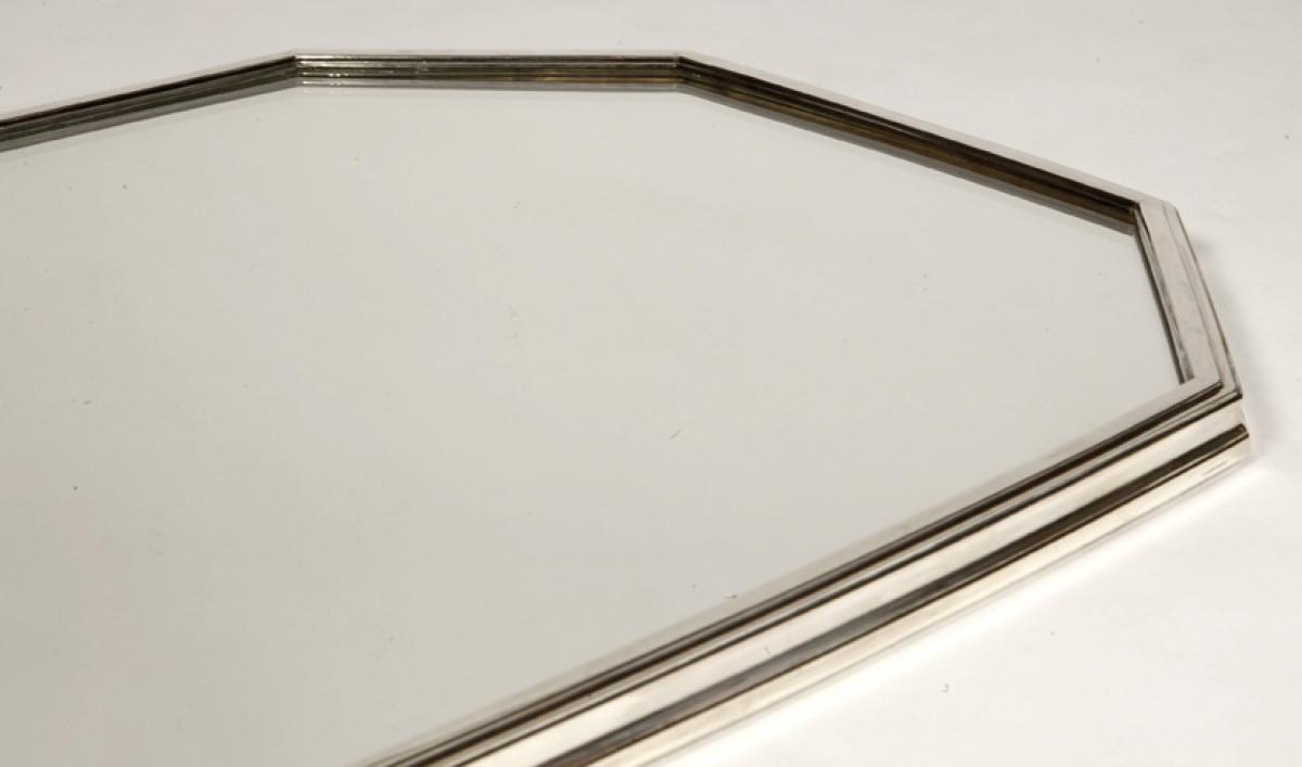 Surtout de table fond de miroir orf vre jean tetard for Fond miroir