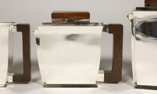 Antique Silver  - 20th-century silver and tea service by silversmith BLOCH ESCHWEGE