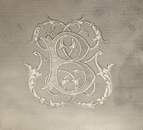 19th century - Silversmith ODIOT PARIS - CABARET LIQUEUR silver nineteenth