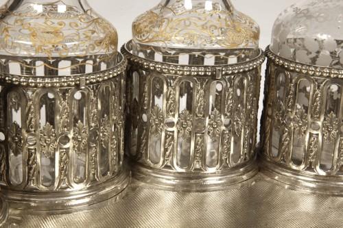 Silversmith ODIOT PARIS - CABARET LIQUEUR silver nineteenth - Napoléon III