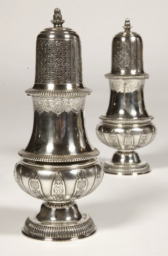 Antique Silver  - Pair of silver sprinklers sugar by CARDEILHAC early twentieth