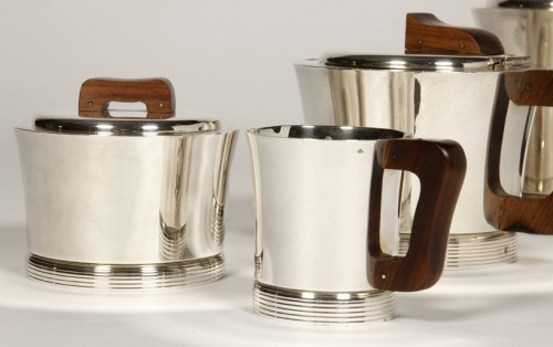 Set tea coffee in silver by JEAN E. PUIFORCAT -