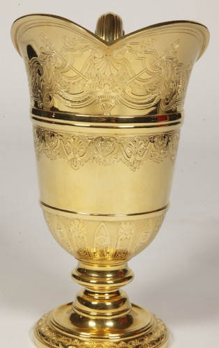 20th century - HANAP in vermeil by silversmith TETARD FRERES