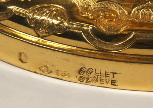 Antiquités - HANAP in vermeil by silversmith TETARD FRERES