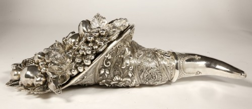 Cornucopia in silver XXe - Antique Silver Style 50