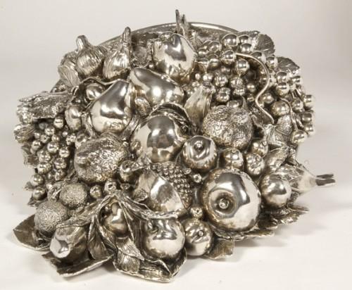 Cornucopia in silver XXe - 50