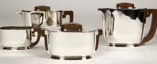 20th century - ART DECO silver tea / coffee service by Christofle and Jean Tetard
