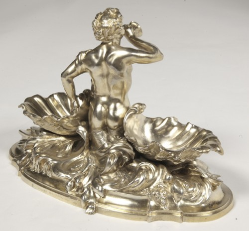 Napoléon III - A pair of larg SILVER-GILT  double SALT-CELLARS  by VICTOR BOUDET, PARIS