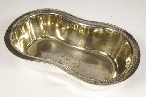 Basin silver and vermeil by Jules WIESE - Antique Silver Style Louis-Philippe