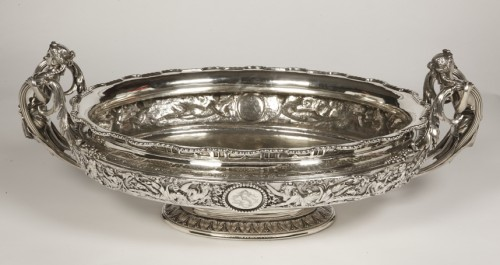 Antique Silver  - Silver jardiniere  by odiot, paris
