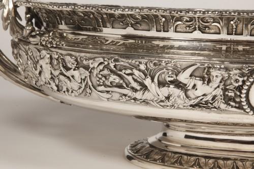 Silver jardiniere  by odiot, paris - Napoléon III