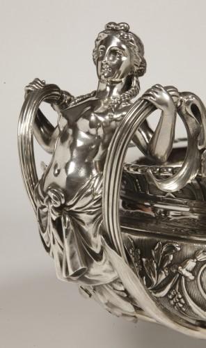 Antiquités - Silver jardiniere  by odiot, paris