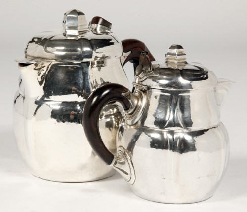 Antique Silver  - SET OF TWO SILVER TEASERS BY G.LECOMTE XXE