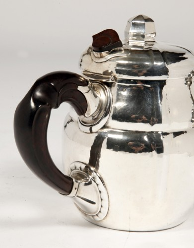 Art Déco - SET OF TWO SILVER TEASERS BY G.LECOMTE XXE