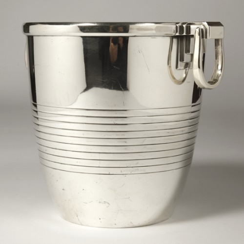 Antique Silver  - Campenouth - Wine cooler in solid Silver - CIRCA 1930
