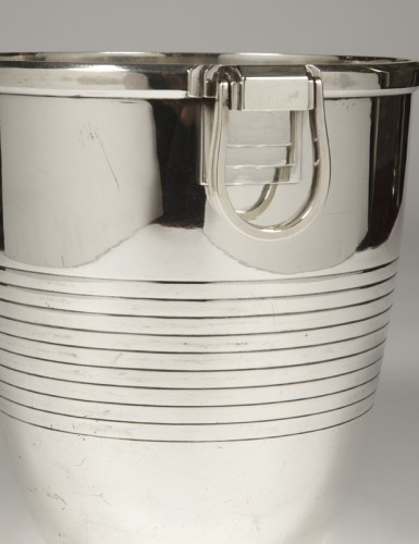 Campenouth - Wine cooler in solid Silver - CIRCA 1930 -