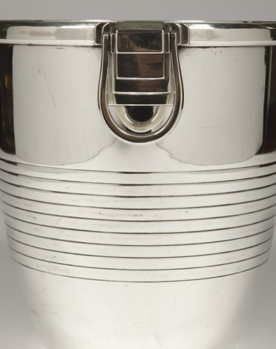20th century - Campenouth - Wine cooler in solid Silver - CIRCA 1930