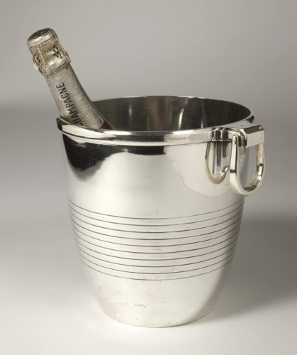 Art Déco - Campenouth - Wine cooler in solid Silver - CIRCA 1930