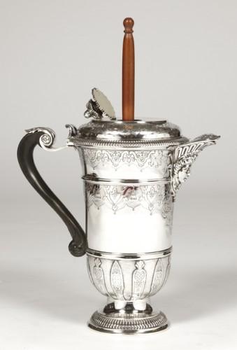 Antique Silver  - Cardeilhac silversmith - Chocolatière sterling