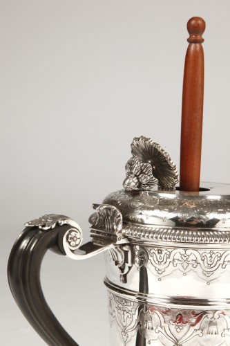 19th century - Cardeilhac silversmith - Chocolatière sterling