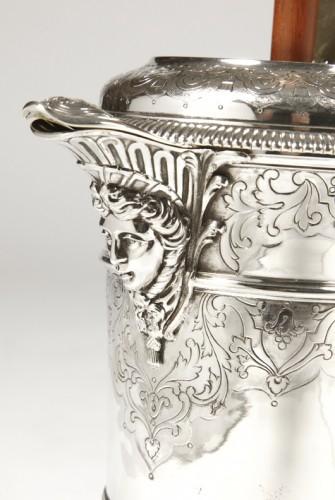 Antiquités - Cardeilhac silversmith - Chocolatière sterling