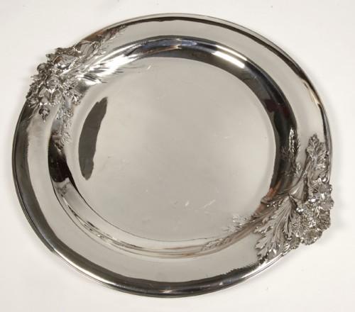 "silver soup tureen, cover and stand know, as ""La soupe de légumes"", by Charles Christofle - Art nouveau"