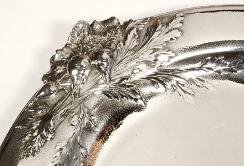 "Art nouveau - silver soup tureen, cover and stand know, as ""La soupe de légumes"", by Charles Christofle"