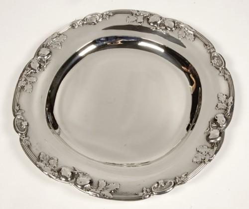 Four silver dishes by C. Christofle - Antique Silver Style Art nouveau