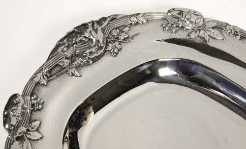 Antique Silver  - Four silver dishes by C. Christofle