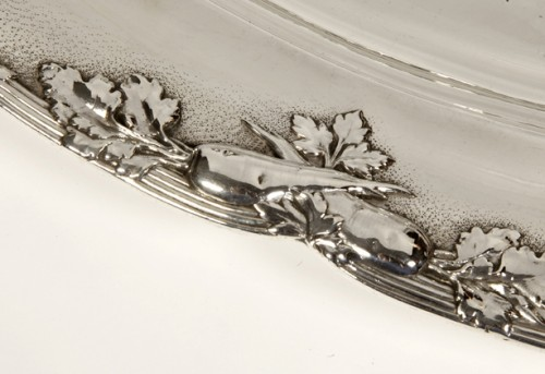 20th century - Four silver dishes by C. Christofle