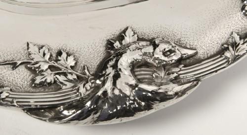 Four silver dishes by C. Christofle - Art nouveau