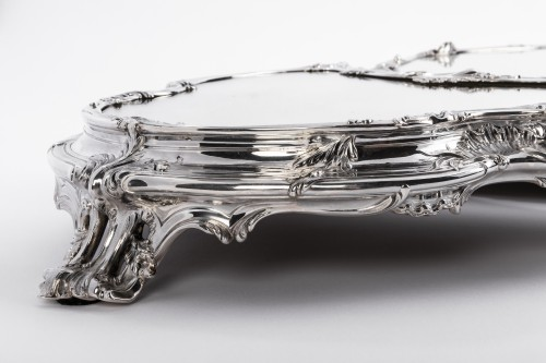 Antique Silver  - Tétard Frères - important centerpiece of solide silver