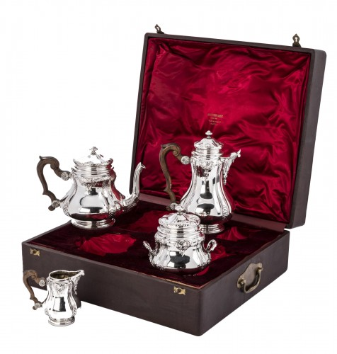 Boin Taburet - Set tea/coffee in silver