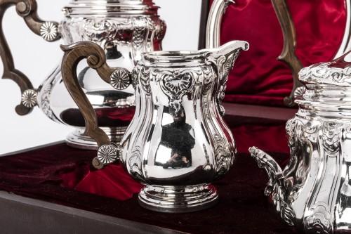 Boin Taburet - Set tea/coffee in silver - Antique Silver Style Art nouveau