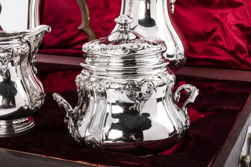Antique Silver  - Boin Taburet - Set tea/coffee in silver