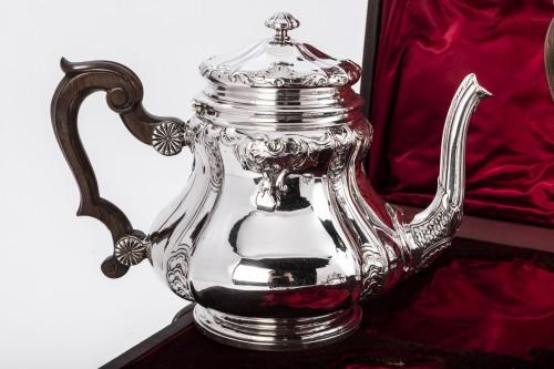 Boin Taburet - Set tea/coffee in silver -