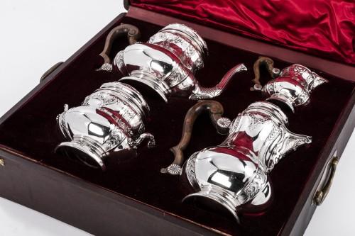 Antiquités - Boin Taburet - Set tea/coffee in silver