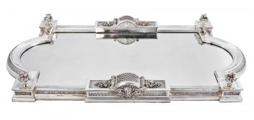 Cardeilhac silversmith - Silver bronze surtout de table