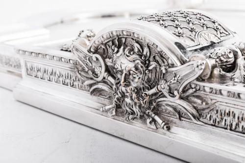 Antique Silver  - Cardeilhac silversmith - Silver bronze surtout de table