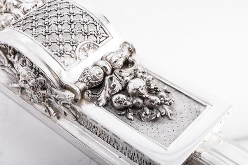 Cardeilhac silversmith - Silver bronze surtout de table -