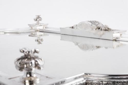 Cardeilhac silversmith - Silver bronze surtout de table - Napoléon III