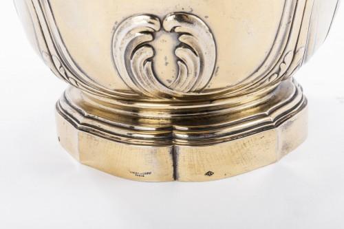 Vermeil COOLER by RISLER & CARRE 19th - Art nouveau